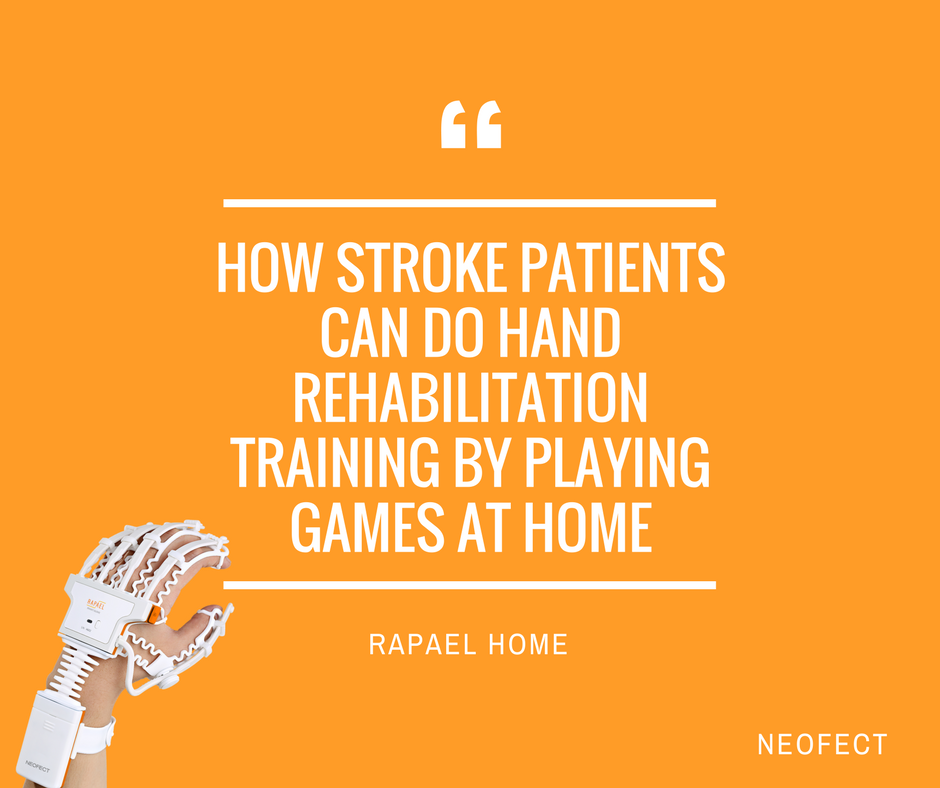How Stroke Patients Can Do Hand Rehabilitation Training by Playing Games at Home