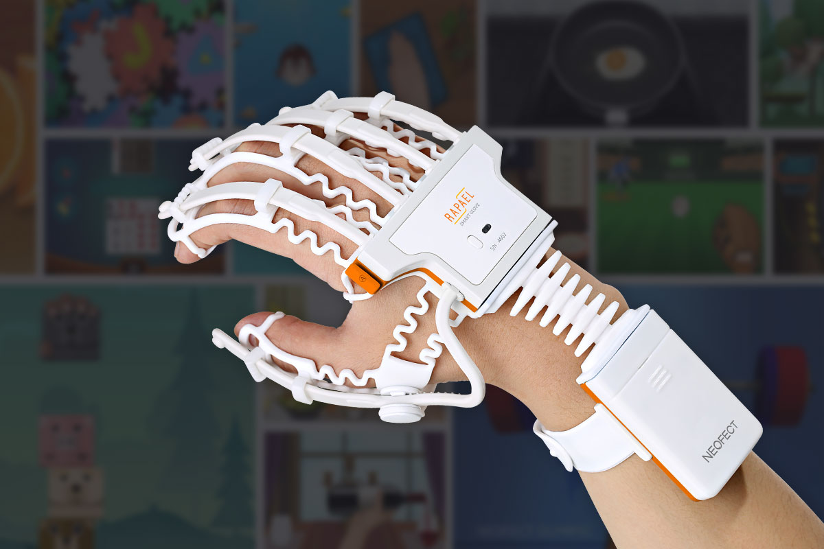 Stroke Rehabilitation is now Fun! Thanks to Neofect Smart Glove