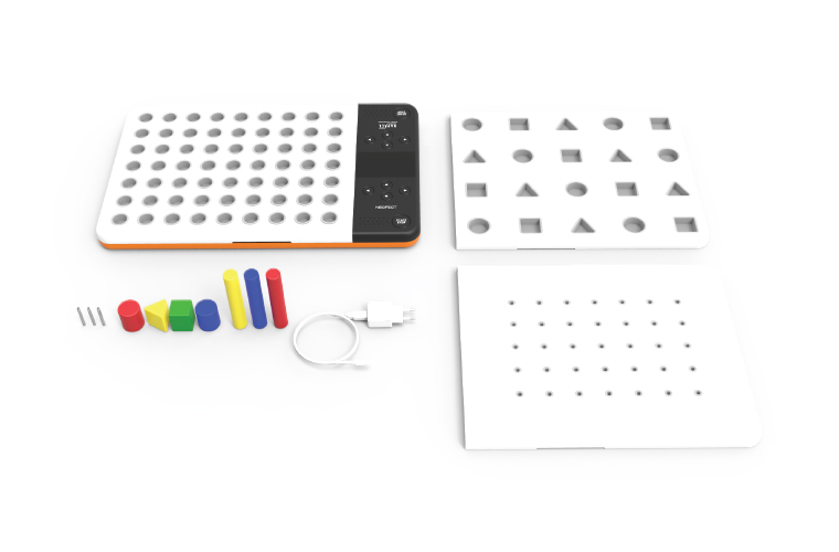CES-Innovation-Award-Honoree-Neofect-Smart-Pegboard