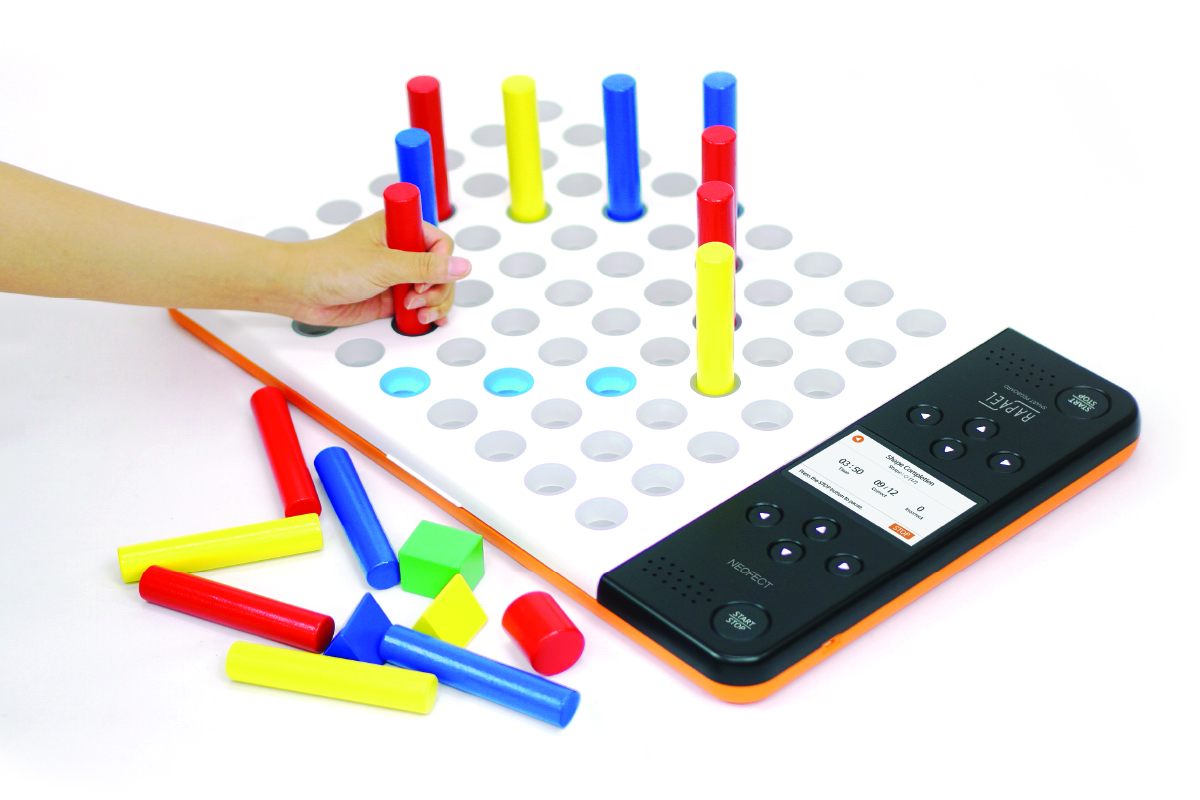 Neofect Smart Pegboard, Fine Motor Skill and Cognitive Rehabilitation for Stroke