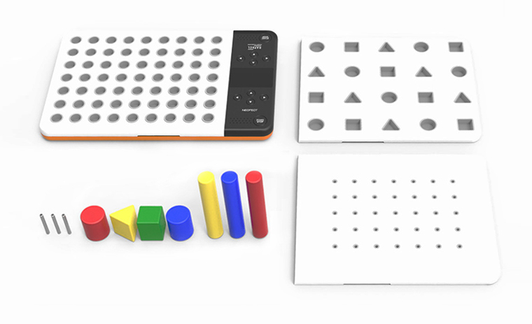 Neofect Smart Pegboard to recover fine motor skills after stroke