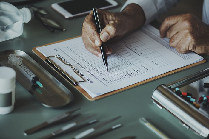 stroke diagnosing test