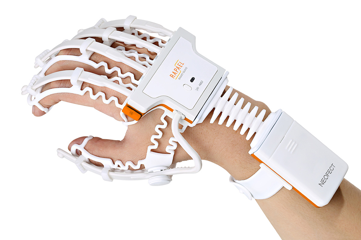 high-tech stroke rehab product - Neofect Smart Glove