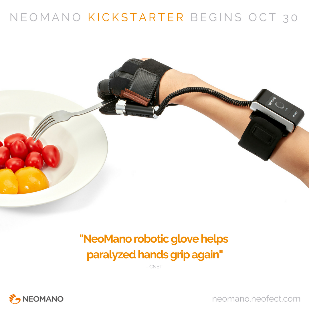 werable robotic hand Neomano