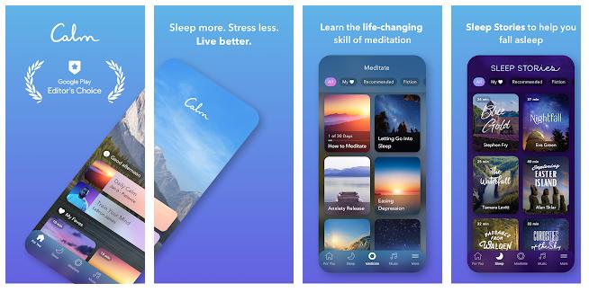 meditation app calm