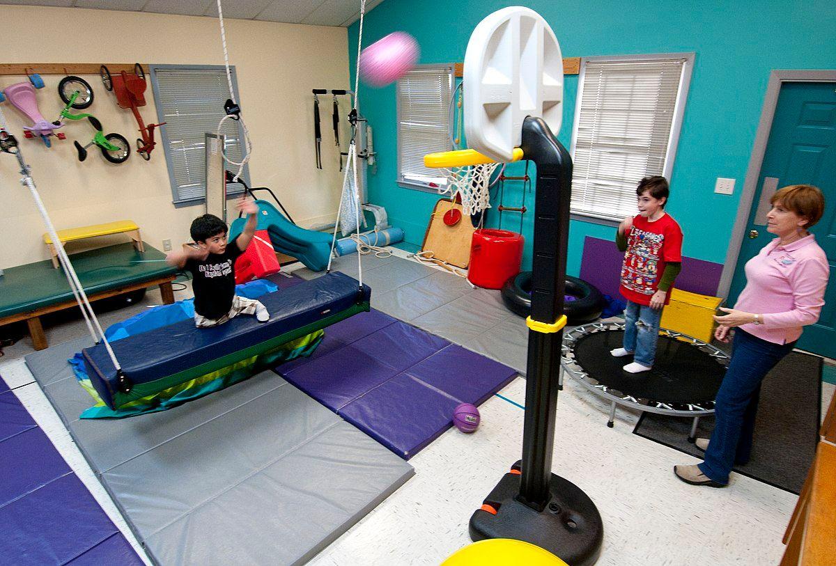 pediatric OT working with children