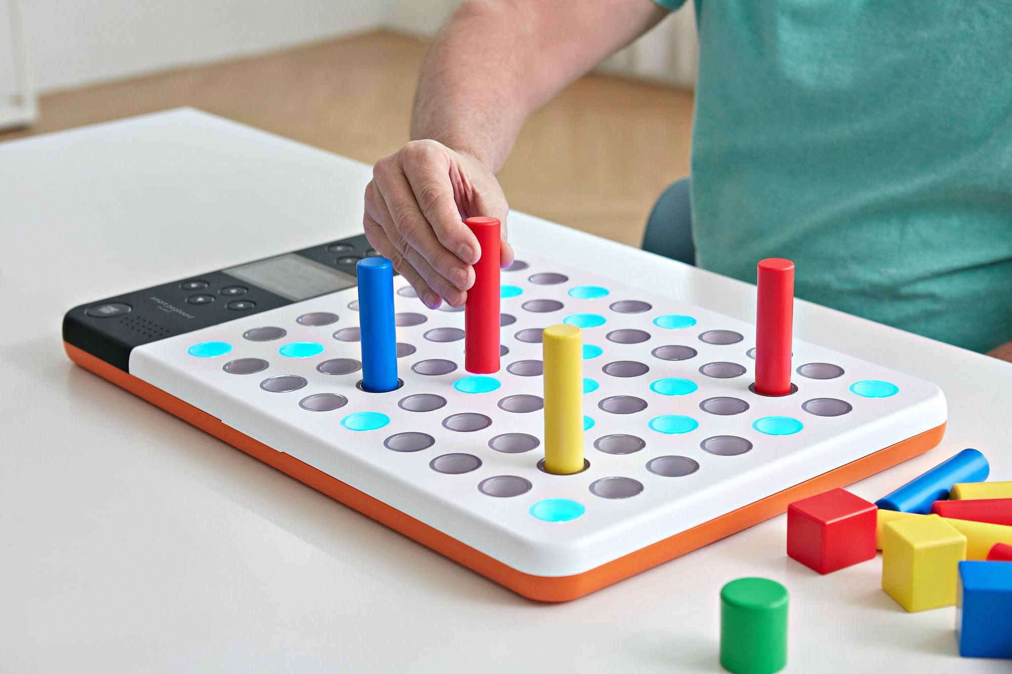 Neofect-Smart-Pegboard-helps-fine-motor-skills-activities