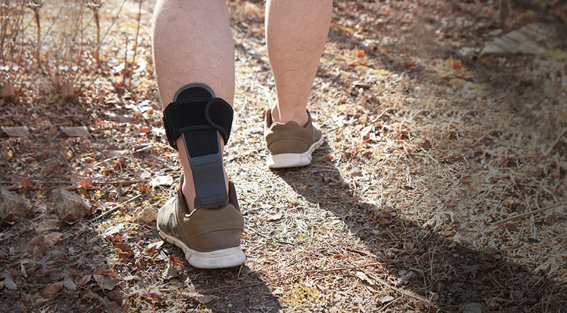 How to normalize gait - Dynamic AFO Foot Drop Brace after stroke