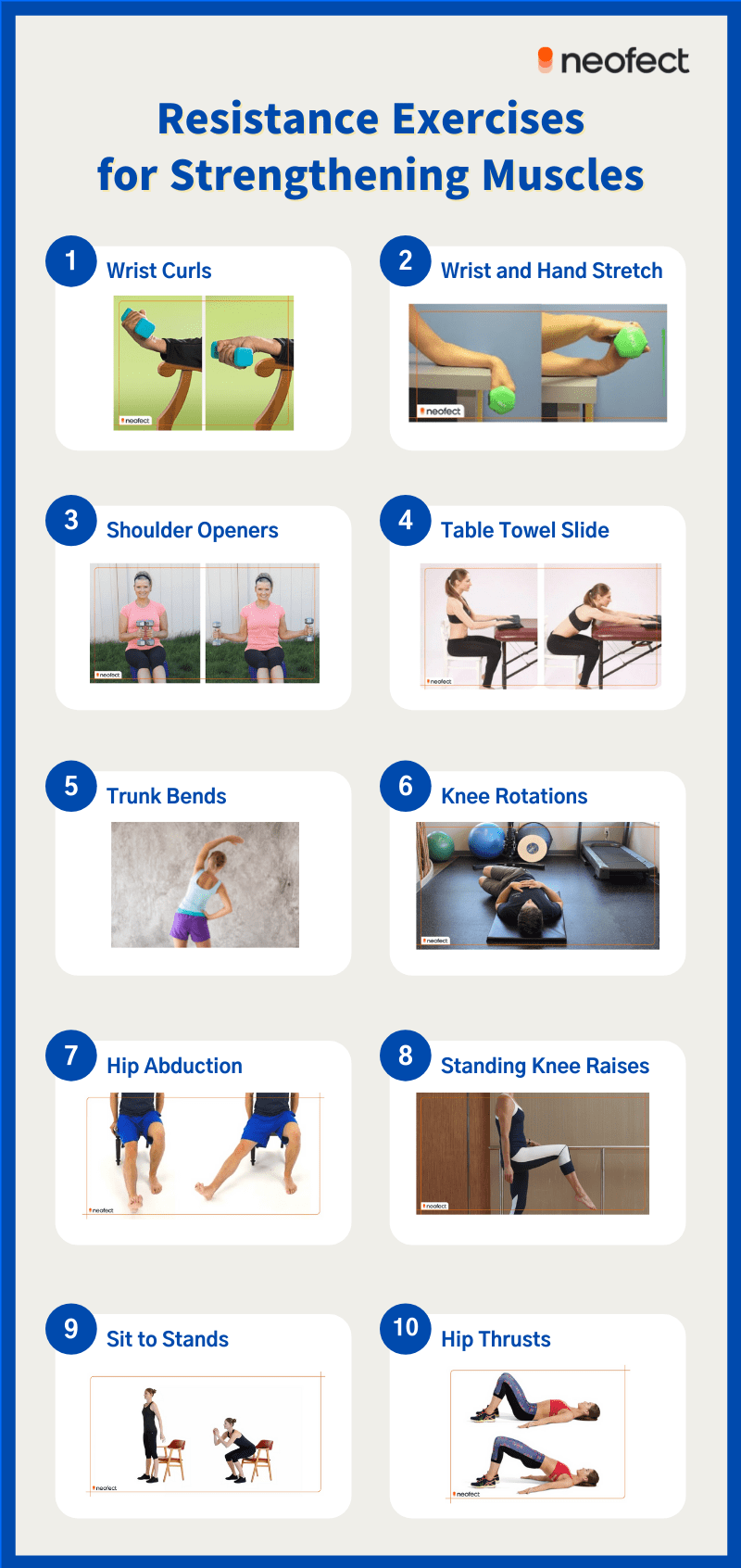 Resistance Exercises for Strengthening Muscles