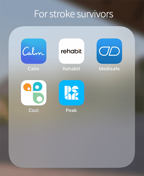 Best 5 apps for stroke survivors